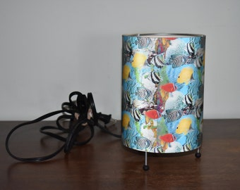 Holographic Fish Lamp