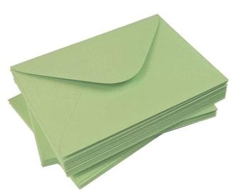 Green Envelopes | Set of 50 | 120g