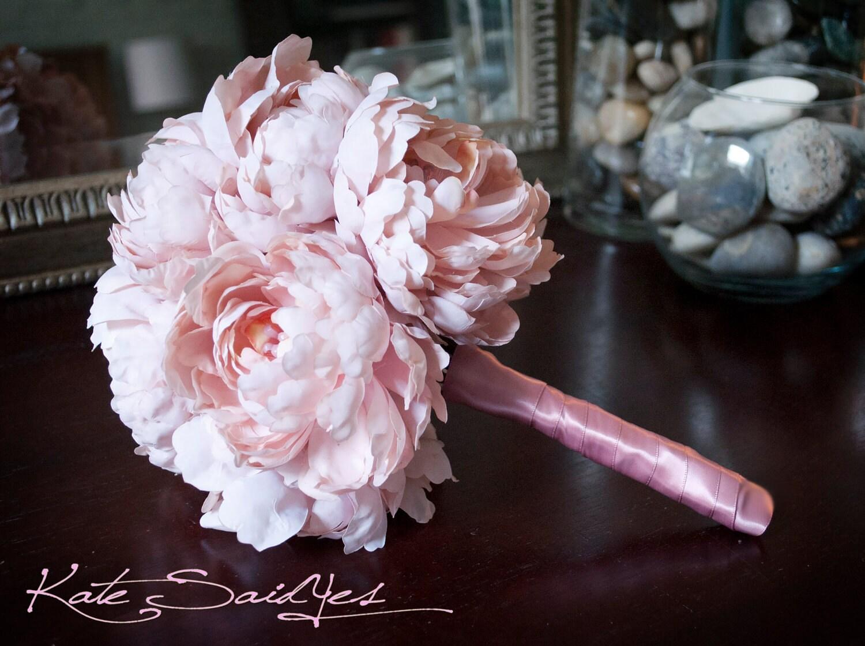Wedding Bouquet Pink Peony Wedding Bouquet