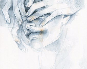 Watercolor Giclee PRINT - 8x10