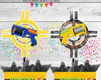 Dart Gun Party Deluxe Centerpieces