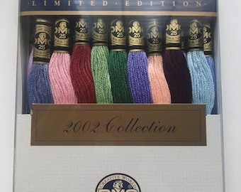 DMC Embroidery Floss 2002 Collection Limited Edition 27 Newest Colors