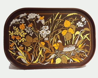 70s serving tray etsy
