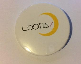"LOONA 2 1/4"" Name Pins"