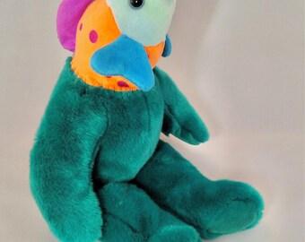 Jerrob. Frankenfuzzy. Soft sculpture. Stuffed animal. Toy