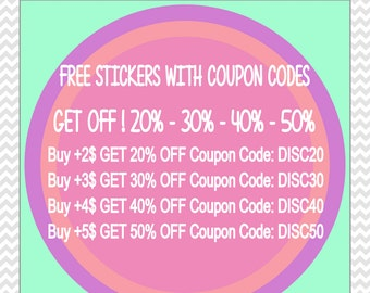 FREE Planner Stickers Printable. FREE Stickers Coupons Codes. FREE Discount Codes. Free Discount Coupons. Free Coupons Stickers Printable.