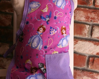 Sophia the First Children's Apron
