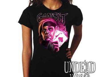 Marvel X-men Gambit  - Ladies T Shirt