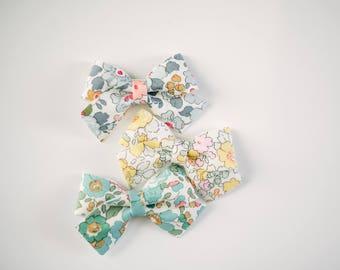 Large Floral Bow | 3 Colors