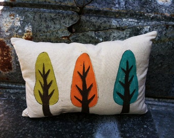 Fall Trees Decoration, Pillow Cover, Fall Decor, Fall Lumbar, Holiday Pillows, Holiday Decorating, Fall Themes, Fall  Colors, Coordinating