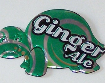 Turtle Magnet - Ginger Ale Soda Can