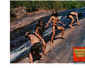Creatures The World Forgot - US lobby card No 7