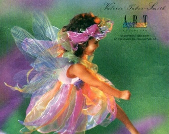 Simplicity 8838 FAIRY COSTUME w/ WINGS Valerie Tabor-Smith, Art Impressions - Also published as Simplicity 0643, 0691