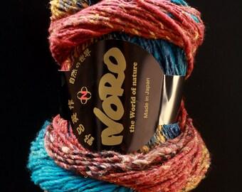 DESTASH noro taiyo cotton silk wool polyamide 77