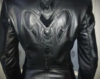 Poison arrow - Women's leather jacket by Pentagram