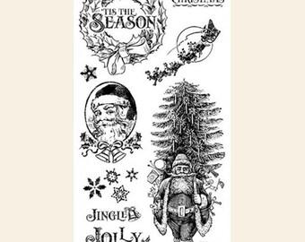 Graphic 45, St. Nicholas, Nicholas 1, Stamp Set, Retired
