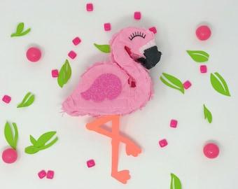 Flamingo party, flamingo mini piñata, flamingo piñata, flamingle, Luau, flamingo, Tropical Party