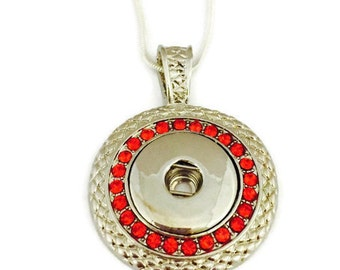 Snap Jewelry, Snap Necklace,  Snap Button Jewelry, Snap Button Necklace,  Fits Ginger Snap and Noosa Snap Buttons,  Interchangeable Jewelry
