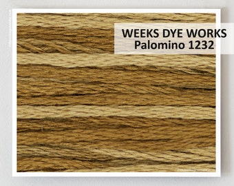 PALOMINO 1232 Weeks Dye Works WDW hand-dyed embroidery floss cross stitch thread at thecottageneedle.com