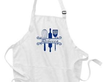Aprons, Baker Apron, Aprons for Men, Aprons for Women,  Personalized Aprons, Apron for Baker, Wedding Gift, Gift for Wife, Gift for Dad