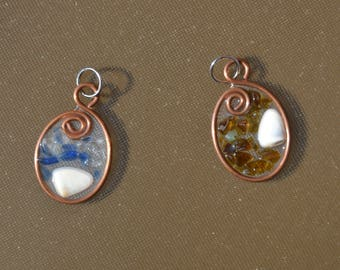 Handmade Recycled Copper Pendants