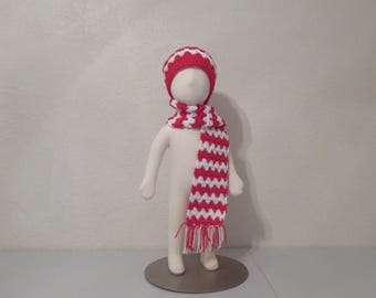 Toddler Hat and Scarf