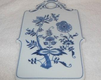 Blue Danube Cheese Board Heavy Porcelain