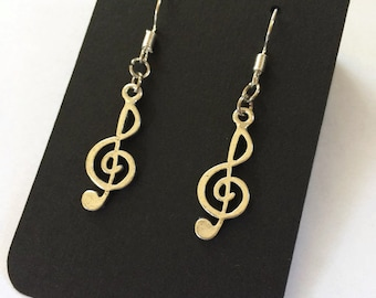 Music Earrings Music Teacher Gift