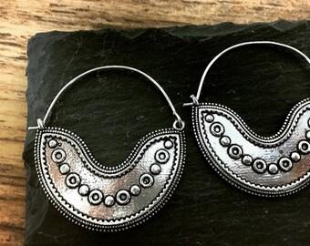 Ethnic Earrings Boho Tribal MOONPHASE original ethnic earrings