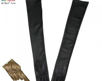 Ladies Leather Opera Gloves (S902013)