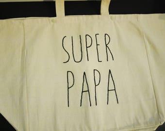 "Cabas ""SUPER PAPA"""