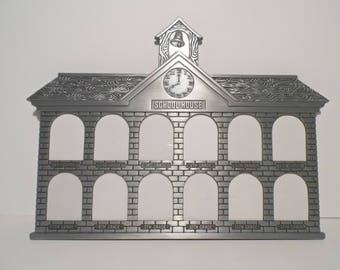 Polished Gunmetal Schoolhouse Picture Frame Grades 1-12