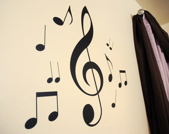 Music Notes - Wall Decals