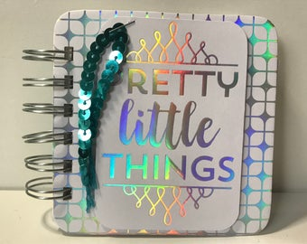 Holographic Pretty Little Things Password Book