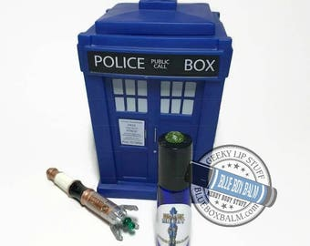 "Sonic Scent - STORYTELLER - ""Ashildr"" Doctor Who Inspired Body Scent - A Fruity, Sweet, Musky Fragrance in a Blue Glass Roller Bottle"