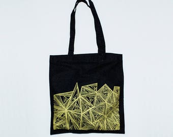 Forms Tote bag + notebook