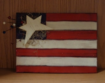 Summer Decor, 4th of July, Pallet sign, USA, Reclaimed wood, Flag
