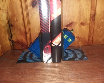 Tardis Bookends, Doctor Who, Police Box