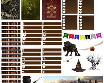 Harry Potter planner stickers PRINTABLE!
