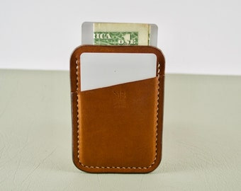 Leather Card Holder, Leather Card Wallet, Minimalist Leather Card Wallet, Minimalist Wallet, Everyday Carry