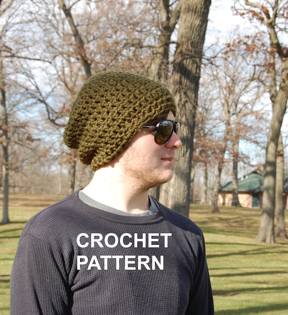 Mens Brimless Crochet Hat Pattern Super Easy Crochet Hat Pattern