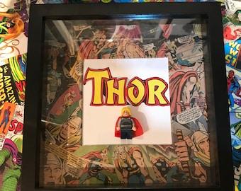 Handmade Thor lego frame