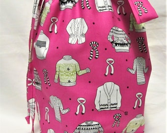 NEW - Medium Knitting Project Bag
