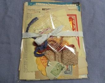 Wabi Sabi Collage Ephemera Packet