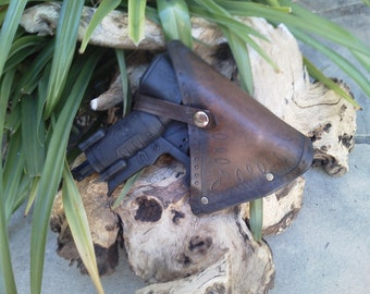 Leather Nerf Holster - TRIAD EX-3