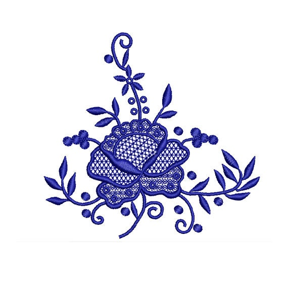 Rose Embroidery Design Flower Embroidery Design Machine Embroidery
