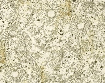 Wilmington Prints - Vintage Garden - Toile Print - Cream