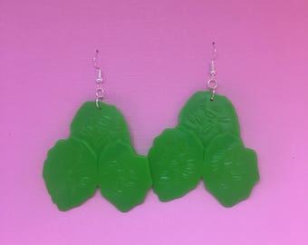 Pickle Earrings