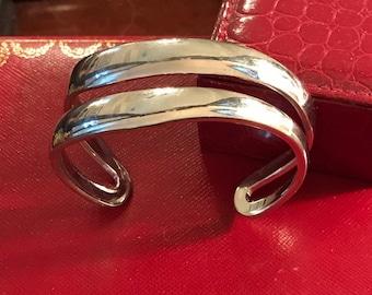FERRONI Sterling Silver Cuff Bracelet