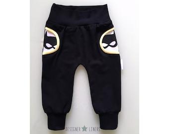 Boys Bat Pants, Girls Bat Pants, Fake Pocket Pants, Bat Pants, Bat Clothes, Bat Outfit, Boys Pants, Girls Pants, Boys Clothes